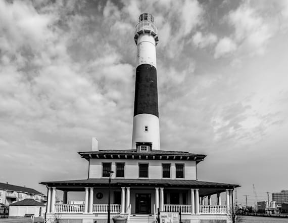 Take a tour of this haunted lighthouse if you dare