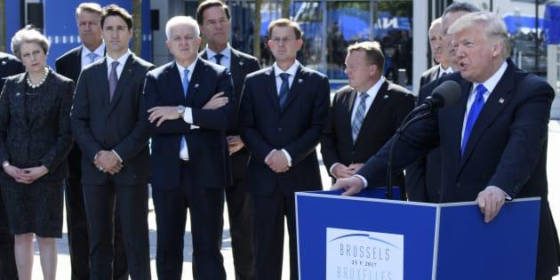 Scénario du pire ou encouragements, que réserve l'imprévisible Trump au sommet de l'OTAN?