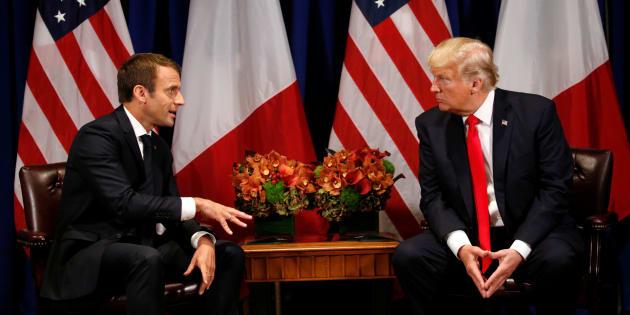Macron dit qu'il a convaincu Trump sur la Syrie, la Maison Blanche lui répond (sans le nommer)