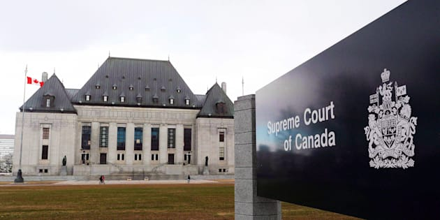 The Supreme Court of Canada in Ottawa is shown on April 14, 2015.