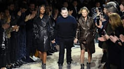 Kate Moss et Naomi Campbell défilent pour Louis Vuitton