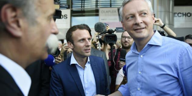 Emmanuel Macron a décidé de ménager Bruno Le Maire dans cette première vague d'investiture.