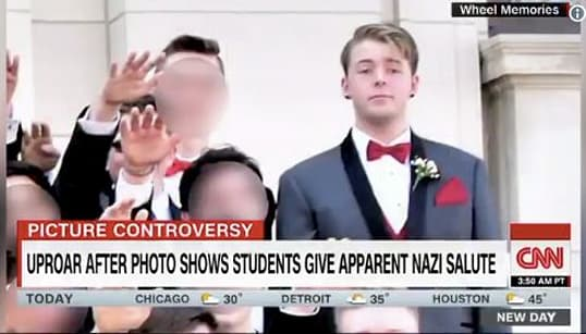 Student Speaks Out On Nazi Salute Prom Photo: 'It Was A Scary