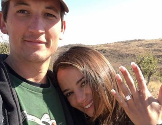Miles Teller announces engagement!