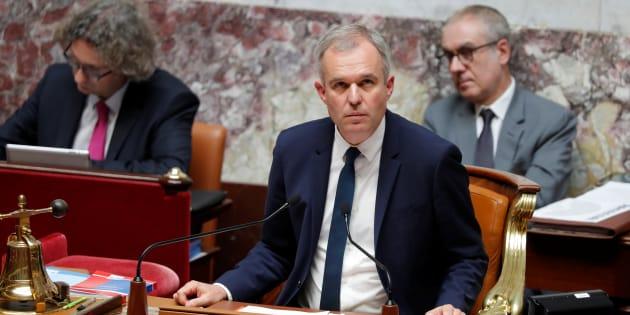 François de Rugy à l'Assemblée nationale le 12 juillet 2017.