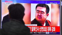Sul volto del fratellastro di Kim gas nervino