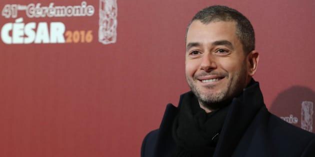 L'animateur Ali Baddou à la cérémonie des César, le 26 février 2016