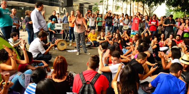 Ocupação de escola em São Paulo