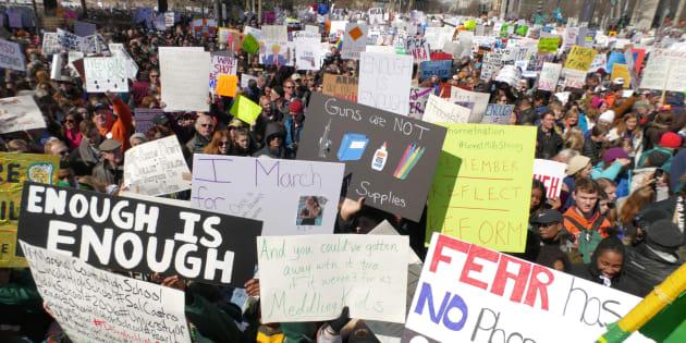 La NRA interdit les armes à sa convention, les survivants de Parkland dénoncent une hypocrisie.