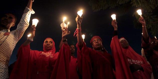 3 ans après, nous n'oublions les 195 lycéennes encore aux mains de Boko Haram REUTERS/Afolabi Sotunde