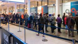 Moins d'attente pour les voyageurs aux douanes de l'aéroport