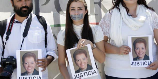 Las protestas por el asesinato de la periodista se han dado por todo el país.