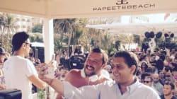 Un vicepremier in consolle: al Papeete per Ferragosto si balla con Salvini
