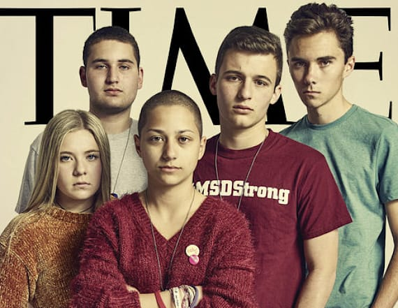 Parkland students featured on Time Magazine cover