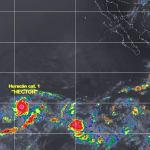 Huracán Héctor causará tormentas fuertes en varios