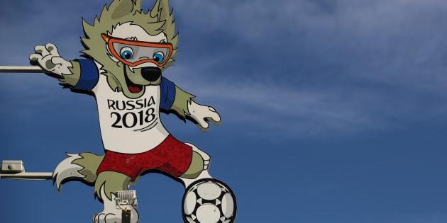 Zabivaka é o mascote oficial da Copa da Rússia
