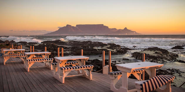 Cape Town's Table Mountain.