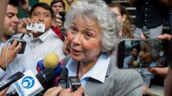 Indagatorias contra Elba Esther Gordillo no eran sólidas: Olga Sánchez