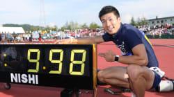 日本人初の9秒台、桐生祥秀が陸上男子100メートルで新記録