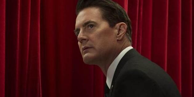 """Kyle MacLachlan interprète Dale Cooper, un agent du FBI dans """"Twin Peaks"""""""