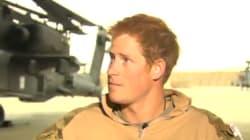 Ces images du prince Harry courant vers son hélicoptère valent le