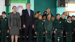 """Video: """"No a la reforma educativa"""", dice niño en acto público al que asiste"""