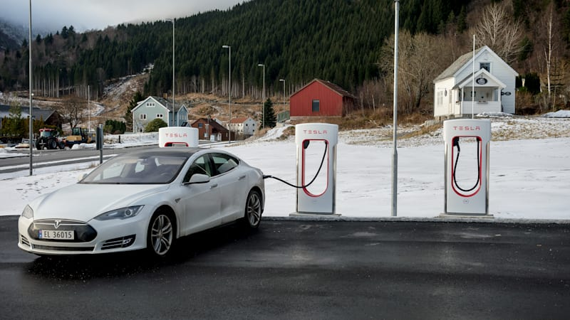 photo image Norway denies holding up Tesla move to improve service
