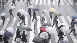 あす朝は大雪の見通し 降雪予想、東京都心5センチ 多摩15センチ