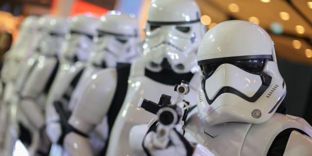 """Une nouvelle série de films """"Star Wars"""" annoncée par Disney ce 6 février 2018."""