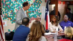 Melania Trump à la frontière avec le Mexique pour rencontrer des familles de