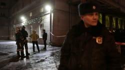 L'explosion de St-Pétersbourg causée par un engin explosif