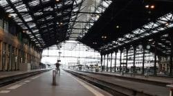 Les gares de Lyon et Bercy désertées à