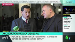 Juanma Moreno interrumpe la conexión de Ferreras y Ana Pastor en 'Más Vale