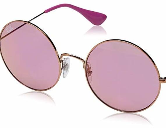 Ray-Ban sunglasses are 50 percent off