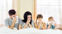 実家を「隠れインフル」で全滅させちゃった・・・ 幼児も症状が出にくいかも!