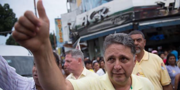 Ex-governador do Rio de Janeiro Anthony Garotinho é preso.