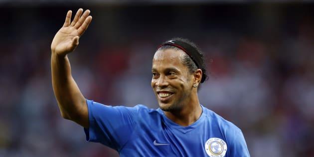 Ronaldinho en 2016.