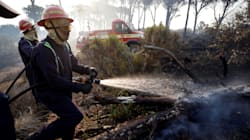 Raging WiIdfire In Cape Town Forces Evacuation From Luxury