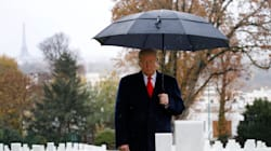 Trump Blames Secret Service For Missing WWI Ceremony Because Of