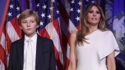 Al parecer, Melania y su hijo no se mudarán a la Casa