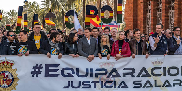 Manifestación de Jusapol. Paco Freire/SOPA Images/LightRocket via Getty Images