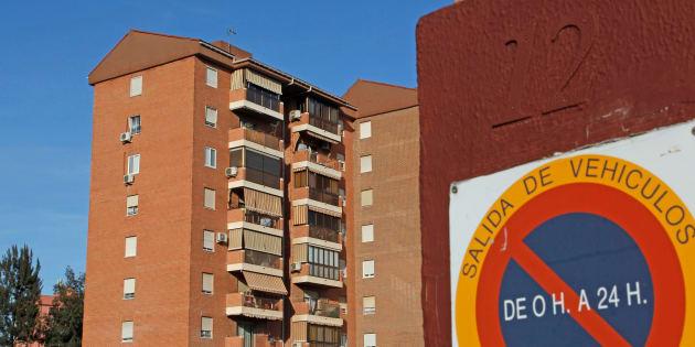Imagen del edificio donde se ha producido la agresión, en Alicante.