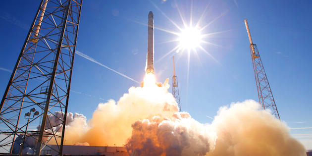 Lancement d'une mission secrète et retour sur Terre — SpaceX