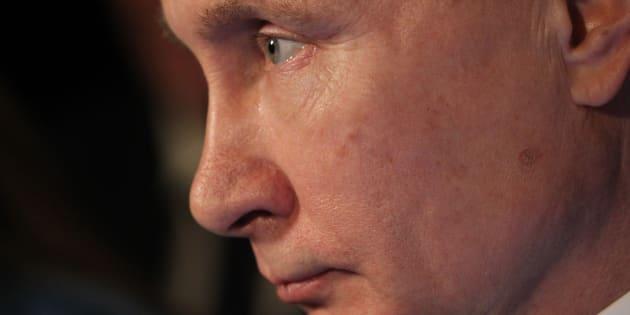 Vladimir Poutine, président de la Russie.