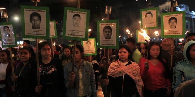 De acuerdo con los expedientes de la CEAV, hay más de 700 víctimas directas e indirectas en el caso Ayotzinapa