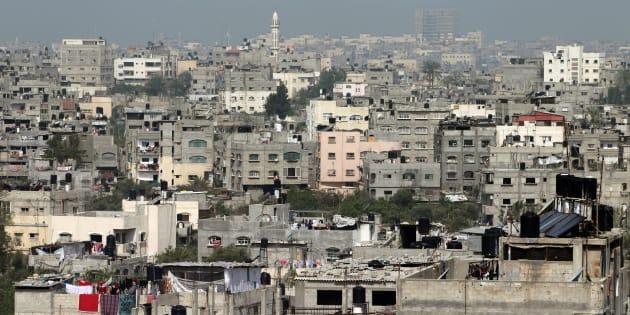 Vista parcial del campo de refugiados de Jabalia, en el norte de Gaza, en una imagen de 2011.