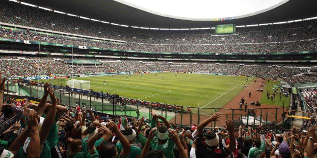 Uruguay v México Final de la Copa Mundial Femenina Sub 17 en el Estadio Azteca.