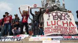 Migrantes centroamericanos repudian militarización de Trump en la