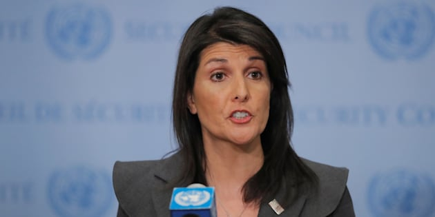 L'ambassadrice américaine à l'ONU, Nikki Haley