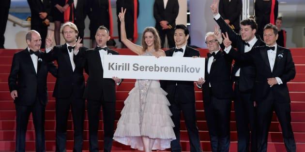 Festival de Cannes: hommages appuyés à Kirill Serebrennikov, absent car assigné à résidence en Russie.